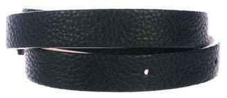 Akris Leather Waist Belt