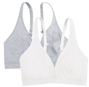 Fruit of the Loom Womens Light Lined Wirefree Bra, 2-pack, Style FT799PK