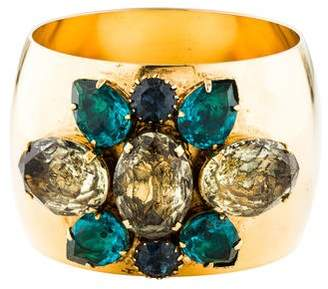 Erickson Beamon Crystal Wide Bracelet