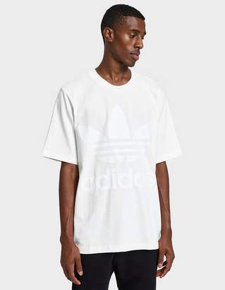 adidas AC Boxy Tee in Off White