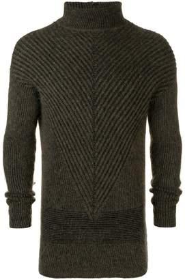 Rick Owens Fisherman turtle neck sweater