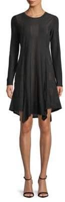 BCBGMAXAZRIA Asymmetrical Sheath Dress