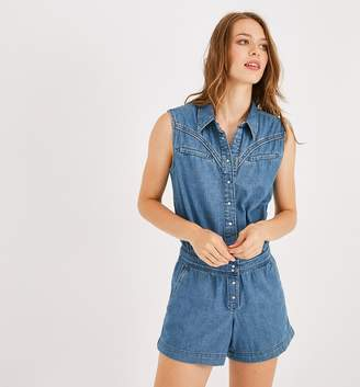 Promod Denim shorts jumpsuit