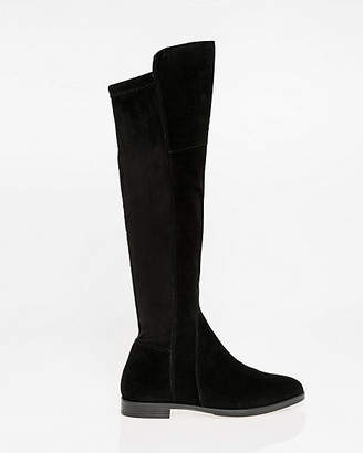 Le Château Italian-Designed Suede Over-the-Knee Boot