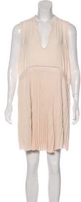 Elizabeth and James Pleated Mini Dress w/ Tags