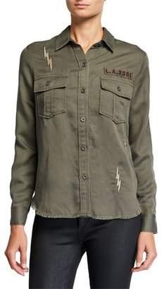 Rails Loren Embroidered Utility Shirt