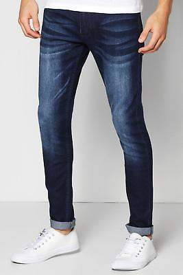 Herren Schmal geschnittene Jeans mit Stretch-Anteil und mittlerer
