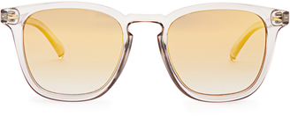 LE SPECS No Biggie square-frame sunglasses $41 thestylecure.com