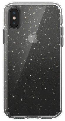 Speck iPhone Xs/X Presidio Clear + Glitter Case