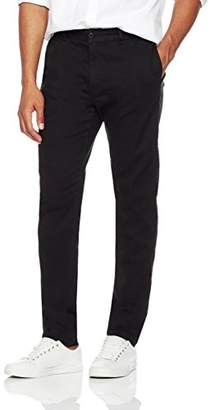 Wood Paper Company Men's Regular Fit Comfort Stretch Washed Lightweight Chino Pant