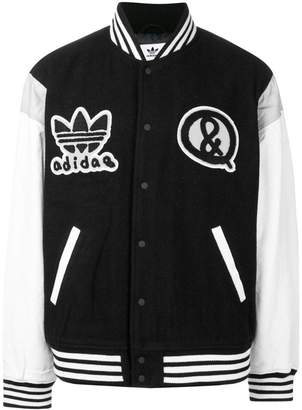 adidas two tone bomber jacket