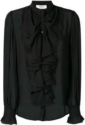 Blugirl ruffle front shirt