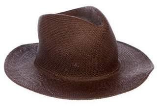 CLYDE Straw Wide-Brim Hat