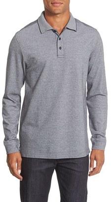Nordstrom Men's Shop Long Sleeve Piqué Polo (Big) $54.50 thestylecure.com
