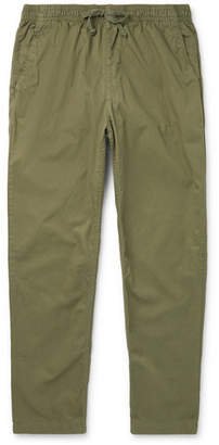SAVE KHAKI UNITED Easy Cotton-Twill Drawstring Trousers