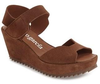 Women's Pedro Garcia 'Fama' Wedge Sandal $475 thestylecure.com