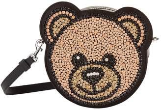 Moschino Crystal Teddy Cross Body Bag