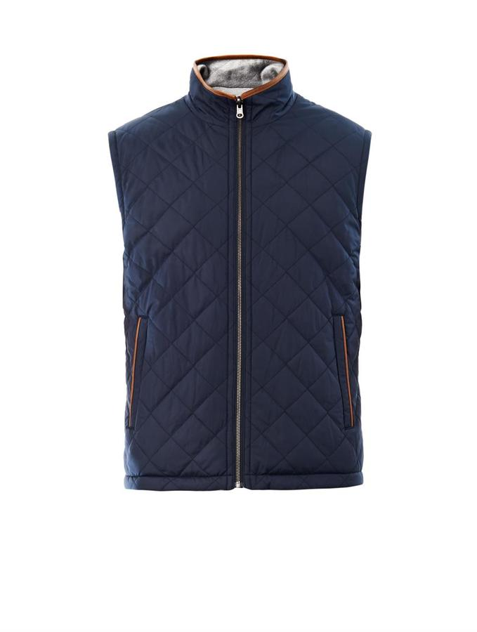 Brooks Brothers Reversible quilted gilet