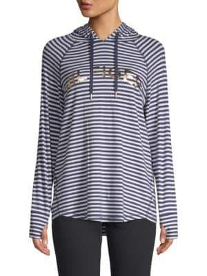 Tommy Hilfiger Striped Long-Sleeve Hoodie