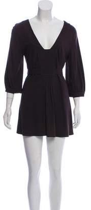 Theory Wool-Blend Long Sleeve Tunic