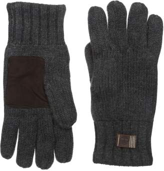 Timberland Men's Knit Glove with Suede Palm