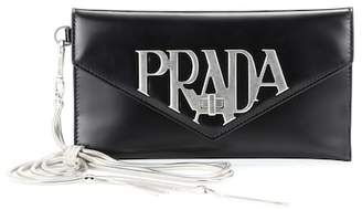 Prada Leather clutch