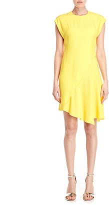 Emilio Pucci Yellow Asymmetrical Flared Dress
