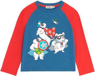 Cath Kidston Long Sleeved Superhero T-shirt