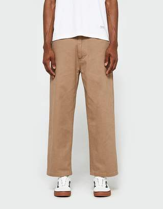 Obey Loiter Big Fits Pant in Khaki