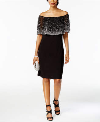 MSK Off-The-Shoulder Embellished Dress $109 thestylecure.com