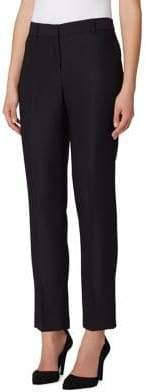Tahari Arthur S. Levine Petite Skinny Shannon Twill Ankle Pants
