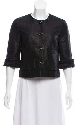 3.1 Phillip Lim Three-Quarter Sleeve Cropped Jacket