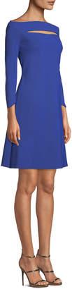 Chiara Boni Palomina Slit Off-the-Shoulder Dress
