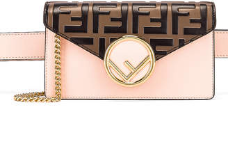 Fendi Chain Hip Belt in Light Rose | FWRD