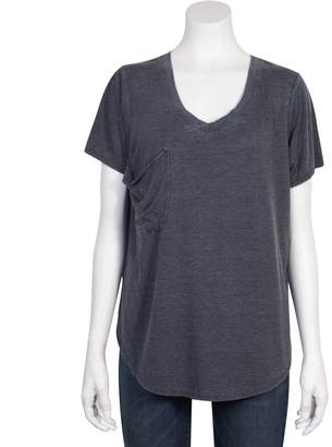 Grayson Threads Juniors' Relaxed Burnout Tee