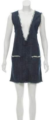 AllSaints Denim Sleeveless Dress