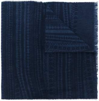 Pringle Abstract Fairisle scarf