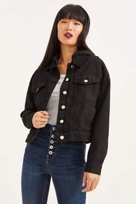 Ardene Hooded Denim Jacket