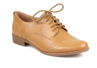 Nature Breeze Lace up Women's Oxfords in Tan