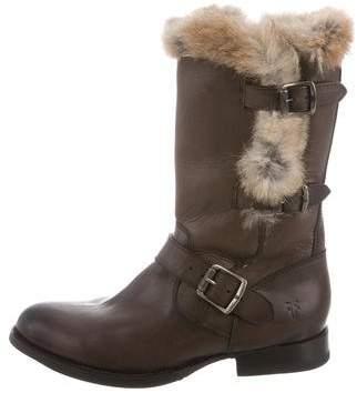 Frye Fur-Trimmed Jaime Boots w/ Tags under $60 cheap online 8GiKl