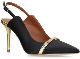 Malone Souliers By Roy Luwalt Suede Marion Pumps 85
