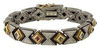 Konstantino Multistone Link Bracelet
