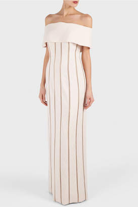Elizabeth Kennedy Off Shoulder Dress