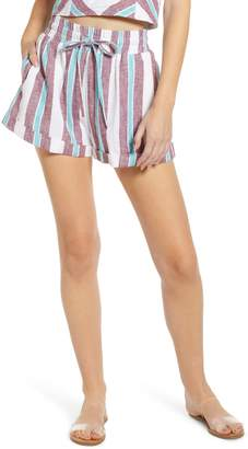 BP Stripe Cuff Shorts