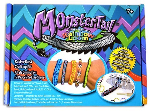 Rainbow Loom Monster Trail