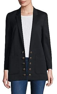 The Kooples Women's Wool Button-Front Blazer