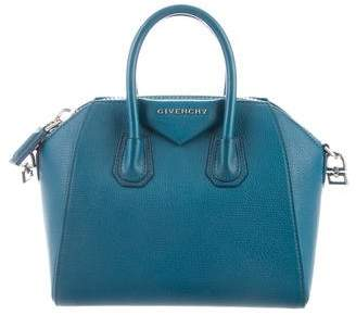 Givenchy Leather Mini Antigona Satchel