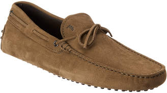 Tod's Gommini Suede Driving Shoe