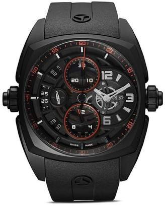 Cyrus Klepcys Chrono Skeleton Dark & Red 46mm