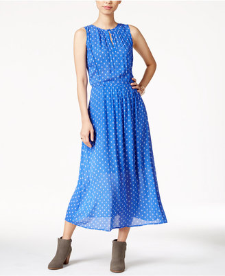 Maison Jules Printed Maxi Dress, Only at Macy's $79.50 thestylecure.com